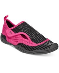 Jbu By Jambu Women's Nemo Flats Women's Shoes Black Fuschia