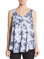 Calvin Klein Tie Dye V Neck Tank Top Multicolor