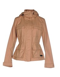313 Tre Uno Tre Coats And Jackets Jackets Women Camel