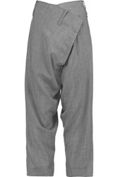 Vivienne Westwood Artifice Flannel Tapered Pants Gray