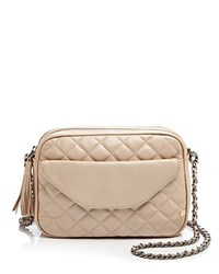Sjp By Sarah Jessica Parker King Quilted Crossbody Beige