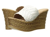Sbicca Kersy White Women's Wedge Shoes