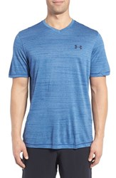 Under Armour Men's 'Ua Tech' Loose Fit Short Sleeve V Neck T Shirt Heron