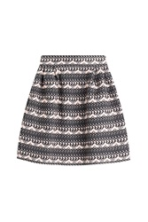 Olympia Le Tan Boucle Skirt Multicolor