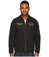Huf Mechanic Jacket Black Men's Coat