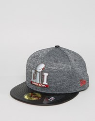 New Era 59Fifty Superbowl Fitted Cap Black
