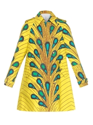 Stella Jean Belena Printed Cotton Coat