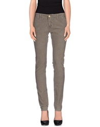 Maison Clochard Casual Pants Grey