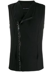 Alchemy Panelled Gilet Black
