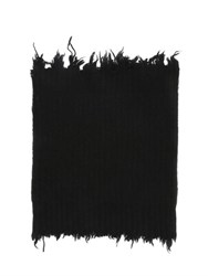 Msgm Distressed Wool Blend Tube Scarf