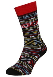 Burton Party Sports Socks Turkish Rug Black