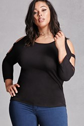 Forever 21 Plus Size Perch Cutout Top