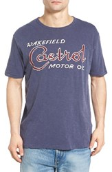 Lucky Brand Men's Castrol Oil Graphic T Shirt