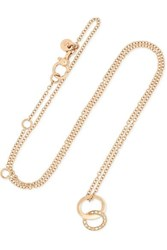 Pomellato Brera 18 Karat Rose Gold Diamond Necklace One Size