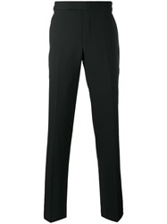 Tom Ford Side Stripe Tailored Trousers Black