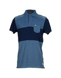Scotch And Soda Topwear Polo Shirts Men Dark Blue