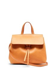 Mansur Gavriel Mini Mini Lady Leather Cross Body Bag Brown Multi