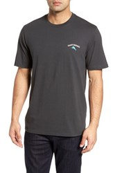 Tommy Bahama Cab Legs Graphic T Shirt Coal