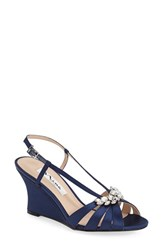 Women's Nina 'Voleta' Wedge Sandal New Navy