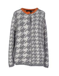 Chiara Bertani Knitwear Cardigans Women Grey