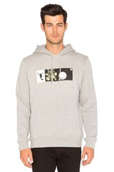 Undefeated To The Edge Hoody Grey