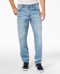 Sean John Men's Reverse Jeans Bleach Fro
