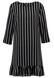 Only Onlsail Summer Dress Black White