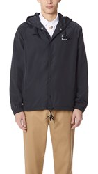 Rvca Va Hooded Coach Jacket Black