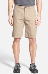 Patagonia 'All Wear' Organic Cotton Canvas Shorts 10 Inch El Cap Khaki