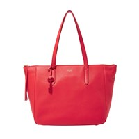 Fossil Sydney Shopper Red