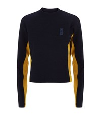 Lndr Snug Cropped Sweater Navy