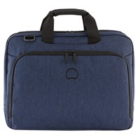 Delsey Esplanade 2 Compartment Briefcase Navy
