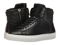 Mcm High Top W Dual Stark Zipper Black Men's Shoes