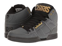 Osiris Nyc83 Charcoal Black Gold Men's Skate Shoes Multi