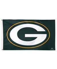Wincraft Green Bay Packers Deluxe Flag Green White