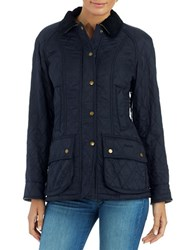 Barbour Beadnell Polar Quilted Jacket Navy