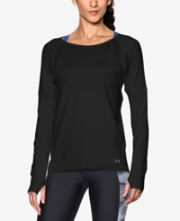 Under Armour Sport Long Sleeve Training Top Black