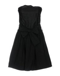 Boutique De La Femme Short Dresses Black