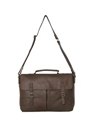 White Stuff Benjamin Leather Satchel Hazelnut