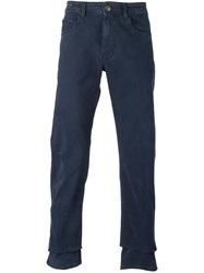Pt05 Straight Leg Trousers Blue
