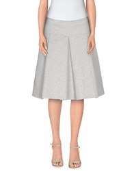 Thomas Rath Skirts Knee Length Skirts Women Light Grey