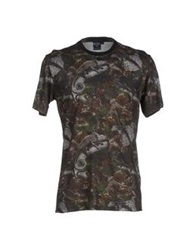 Iuter T Shirts Steel Grey