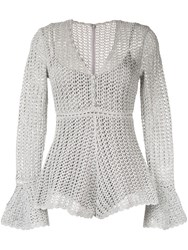Alice Mccall Magic Playsuit Silver