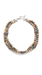 Hipchik Couture Yasmin Necklace Fossil Multi