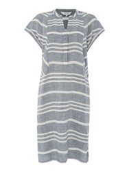 Part Two Casual Stylish Dress Blue