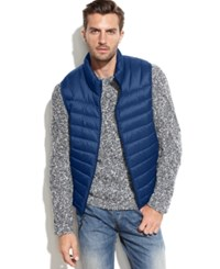 Hawke And Co. Outfitter Hawke And Co. Lightweight Packable Down Vest True Blue