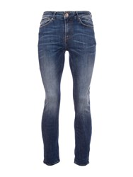 Garcia Men's Slim Fit Faded Jeans Blue