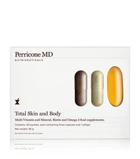 N.V. Perricone Total Skin And Body Supplements