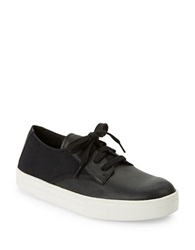 Eileen Fisher Koi Leather Sneakers Black