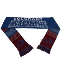 Forever Collectibles Colorado Avalanche Reversible Split Logo Scarf Navy